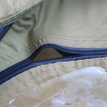 The quality of the zip of the tent.