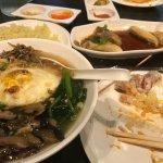 Pan Mee and Hainanese Chicken