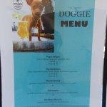 The doggie menu
