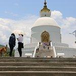 Peace temple - Pokhara