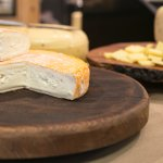 Our Angeline Washed Rind Cheese is one of our most popular.