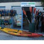 La base nautique KAYAK ET NATURE à MORNAC