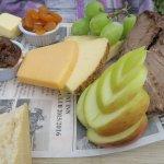 Part of the Mountmans platter