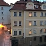Hotel view from Charles bridge