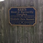 Sign for Bird and Butterfly Garden