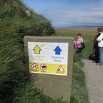 Sign and easy Doolin path - not for high heels!