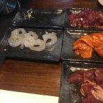 shrimps/bulgogi beef/chicken/duck