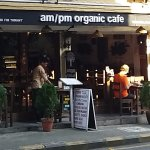 The main entrance-AM/PM organic Cafe