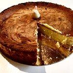 Świąteczna wersja sernika wg Delicato Bistro & Caffé.
