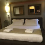 Very comfortable & spacious room which can be closed off from lounge & dining area