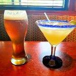 beer and margarita