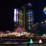 Casino and fountains from the main drag