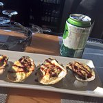 brie baked oysters