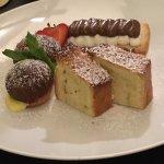 A trio of desserts @ Margutta 19 - yummy!!