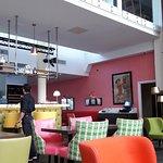 Lobby, bar area
