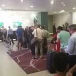 Check in queues seem to be a real issue. The process & finding bookings is unnecessarily long.