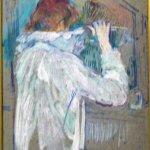 Toulouse-Lautrec Femme se frisant les cheveux