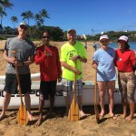 The paddle crew - all smiles after a great trip