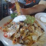 Pork Nachos - delicious!
