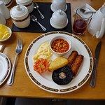 My Linda McCartney vegetarian sausages breakfast