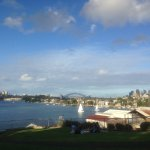 A vantage point of Sydney Harbor. It is also a good place for picnics.