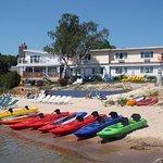 Rent a kayak through Lakeshore Adventures!
