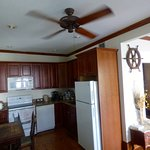 Kitchen area Island City House 2 bed