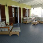 Porch area Island City House 2 bed 2nd floor