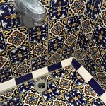 Beautiful tile bathroom