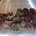 Flavoured croissants