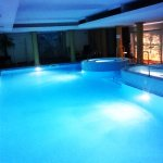 The Hall Pool at Night...