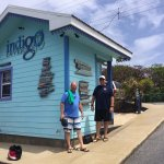 Indigo Divers - dive dock and shack with bathroom.