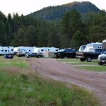 The scenic location is amazing with large fields and RV/camper sites and plenty of room to roam!