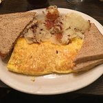 Cheddar Cheese Omlet-Rosies-Sarah Knight Adamson