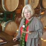 Leanne explains vines, vine maintenance, and the AVA's
