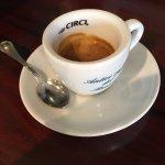 My first espresso
