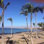 View along the coastal walk.