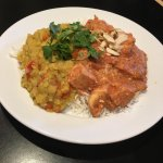 Super yummy Butter Chicken lunch special.