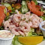 A Superb Salad at Beach Break Tearooms - Manorbier
