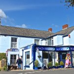 Beach Break Tearooms in the heart of Manorbier, on the Pembrokeshire Coast