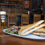 Our caprese panini pairs nicely with a kolsch.