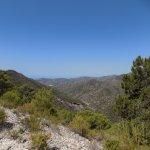 Out across the Sierra Almijara