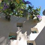 Private outdoor shower in each villa