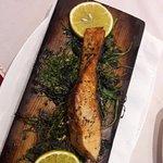 """""""Norwegian Salmon on Cedar wood"""""""