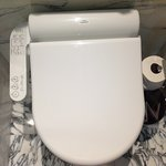 Heated toilet seat!