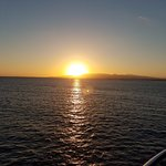 Sunset from the Deck of the Ship