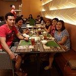 Dinner with family in Banana Leaf Restaurant - Trinoma