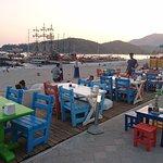 Olu Deniz beach front cafe'