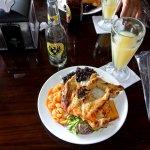 Costa Rican lunch! Yummo!