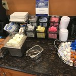 Best Western Plus Inn Breakfast Bar w/ Hard Boiled Eggs